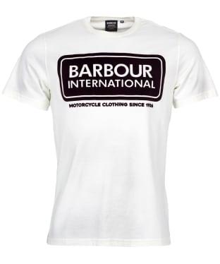 Men's Barbour International Frame Tee - Whisper White