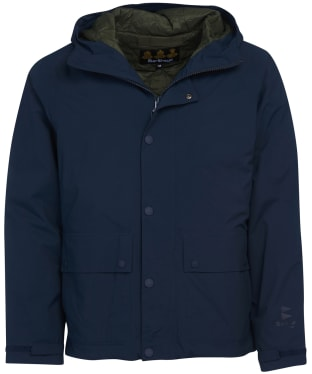 Men's Barbour Cotter Waterproof Jacket - Navy