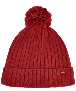 Dubarry Stewart Bobble Hat - Ruby