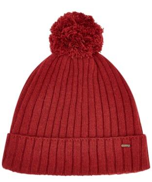 Dubarry Stewart Bobble Hat - Ruby
