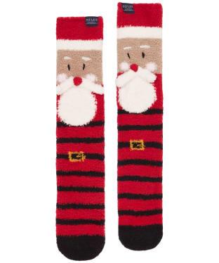 Men's Joules Festive Fluffy Socks - Santa