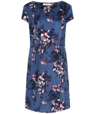 Women's Lily & Me Short Sleeve Cord Dress - Mid Blue