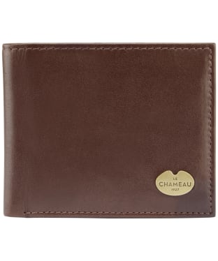 Men's Le Chameau Card Wallet - Marron Fonce