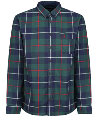 Men's Joules Buchannan Classic Shirt - Navy Multi Check