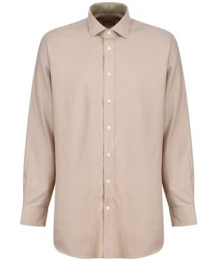 Men's Schoffel Newton Tailored Sporting Shirt - Mole