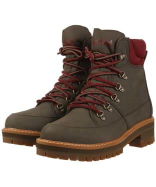 Women's Timberland Courmayeur Hiker Boots - Olive Nubuck