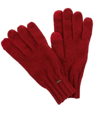 Dubarry Hayes Knitted Gloves - Ruby