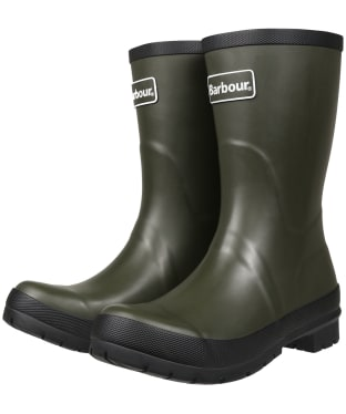 Women's Barbour Banbury Mid Wellington Boots - Olive
