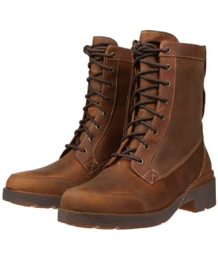 Women's Timberland Graceyn Waterproof Mid Boots - Rust Full Grain