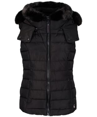 Women's Joules Merrium Quilted Gilet - Metallic Brown