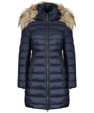 Women's Schoffel Belgravia Down Coat - Navy