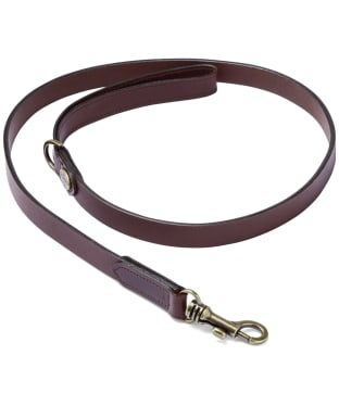 Le Chameau Dog Lead - Marron Fonce