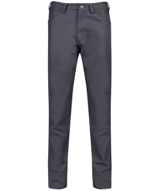 Men's Fjallraven Greenland Canvas Jeans - Dark Grey