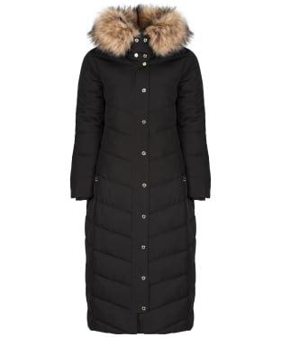 Women's Holland Cooper Equi Longline Puffer Jacket - Black
