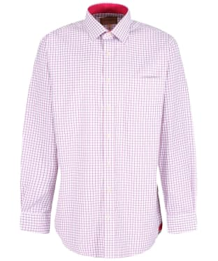 Men's Schoffel Cambridge Shirt - Raspberry