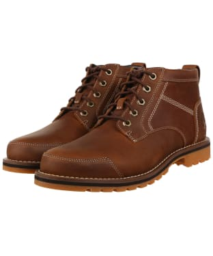Men's Timberland Larchmont II Leather Chukka Boots - Rust Full Grain