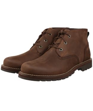 Men's Timberland Larchmont II Waterproof Chukka Boots - Dark Brown Full-Grain