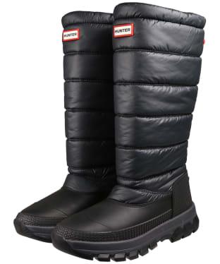 Women's Hunter Original Insulated Tall Snow Boots - Black