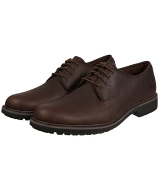 Men's Timberland Stormbucks Oxford Shoes - Dark Brown Full-Grain