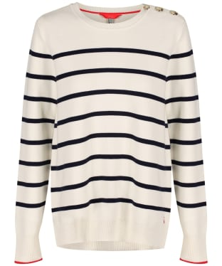 Women's Joules Portlow Jumper - Cream Stripe