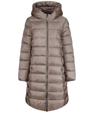 Women's Joules Langholm Long Padded Coat - Slate