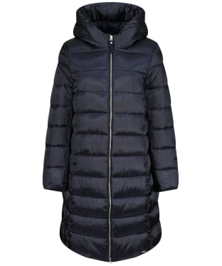 Women's Joules Langholm Long Padded Coat - Navy