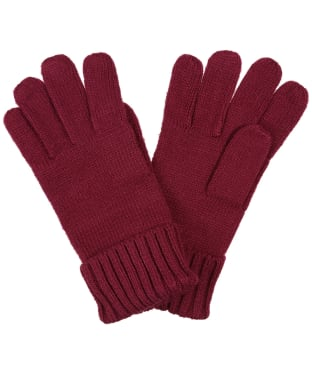 Women's Joules Joanie Gloves - Plum