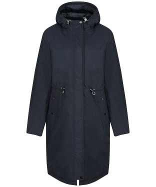 Women's Joules Charlbury Waterproof Coat - Navy