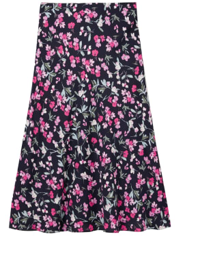 Women's Joules Coletta Skirt - Navy Floral