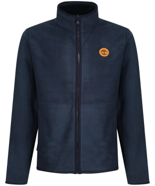 Men's Timberland Mix Media Fleece Jacket - Dark Navy