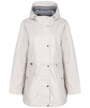 Women's Joules Shoreside Waterproof Jacket - Ivory