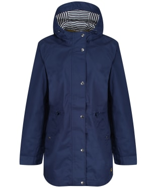 Women's Joules Shoreside Waterproof Jacket - Navy