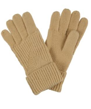 Women's Joules Thurley Gloves - Oat