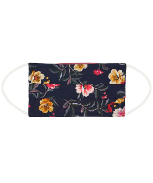 Joules Reversible Face Covering - Navy Floral