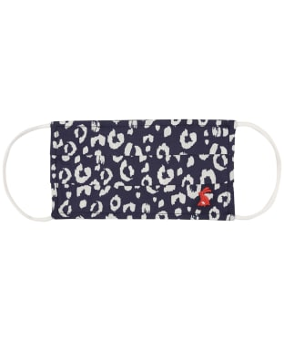 Joules Reversible Face Covering - Navy Leopard