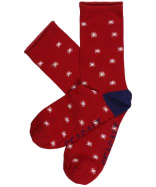 Women's Seasalt Folktale Socks - Star Spot Dahlia
