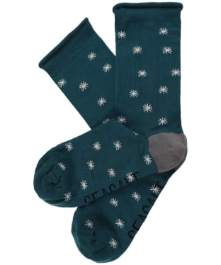Women's Seasalt Folktale Socks - Star Spot Thicket