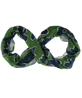Women's Seasalt Pretty Circle Scarf - Penwith Bloom Field Green
