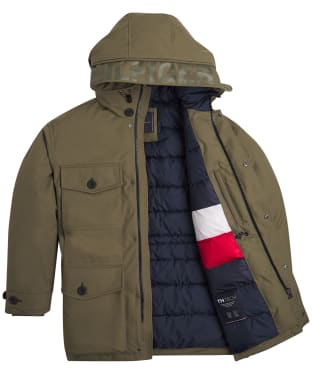 Men's Tommy Hilfiger Heavy Canvas Parka - Utility Olive