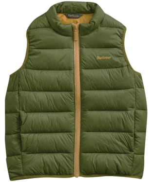 Boy's Barbour Trawl Gilet, 6-9yrs - Rifle Green