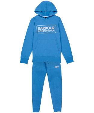 Boy's Barbour International Essential Tracksuit – 10-15yrs - Pure Blue