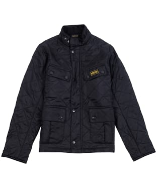 Boy's Barbour International Ariel Polorquilt Jacket, 2-9yrs - Black