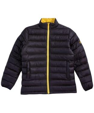 Boy's Barbour International Summer Impeller Quilt – 6-9yrs - Black