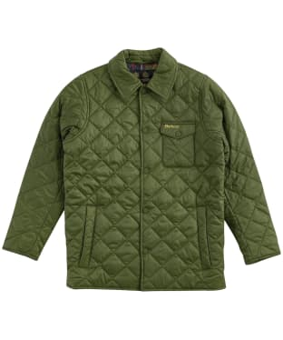 Boy's Barbour Tember Quilted Jacket – 10-15yrs - Rifle Green