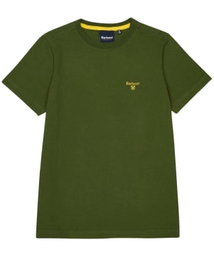 Boy's Barbour Small Logo Tee – 10-15yrs - Rifle Green