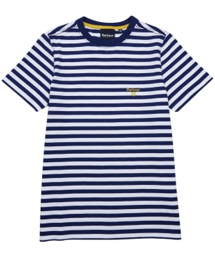 Boy's Barbour Louie Tee – 6-9yrs - Inky Blue