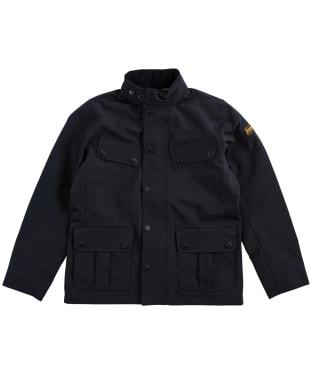 Boy's Barbour International Summer Duke Waterproof Jacket – 6-9yrs - Black