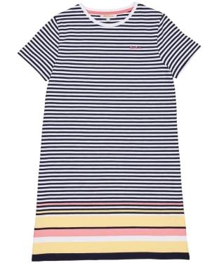 Girl's Barbour Harewood Stripe Dress – 6-9yrs - Multi