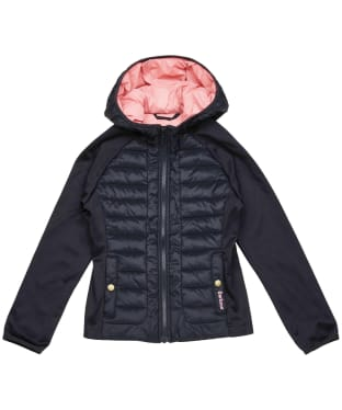 Girl's Barbour Nethercote Sweater – 6-9yrs - Navy