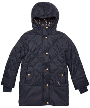 Girl's Barbour Tynemouth Quilted Jacket – 10-15yrs - Navy